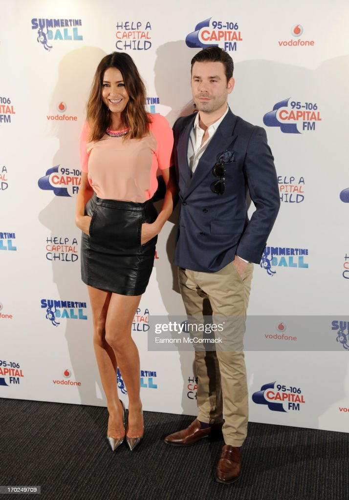 <a gi-track='captionPersonalityLinkClicked' href=/galleries/search?phrase=Lisa+Snowdon&family=editorial&specificpeople=204613 ng-click='$event.stopPropagation()'>Lisa Snowdon</a> and <a gi-track='captionPersonalityLinkClicked' href=/galleries/search?phrase=Dave+Berry+-+Television+Presenter&family=editorial&specificpeople=15087411 ng-click='$event.stopPropagation()'>Dave Berry</a> pose in the Media Room at the Capital Summertime Ball at Wembley Arena on June 9, 2013 in London, England.