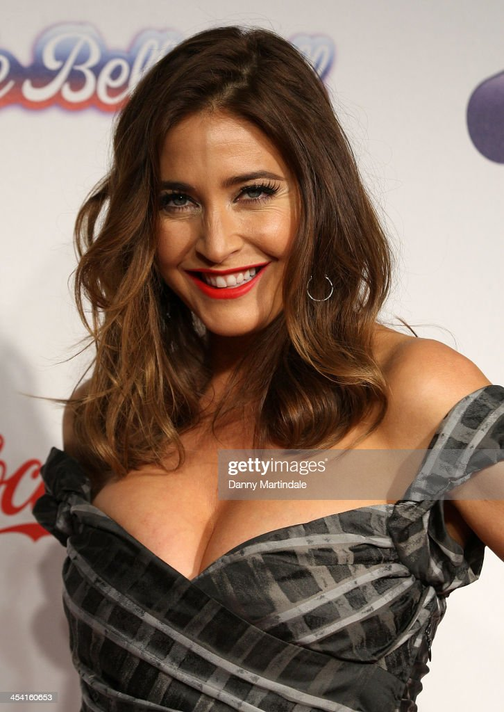 Lisa Snowdon attends on day 1 of the Capital FM Jingle Bell Ball at 02 Arena on December 7, 2013 in London, England.