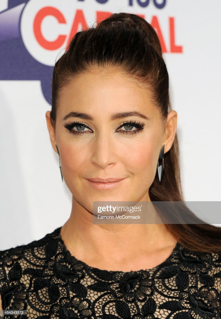 <a gi-track='captionPersonalityLinkClicked' href=/galleries/search?phrase=Lisa+Snowdon&family=editorial&specificpeople=204613 ng-click='$event.stopPropagation()'>Lisa Snowdon</a> attends on day 2 of the Capital FM Jingle Bell Ball at 02 Arena on December 8, 2013 in London, England.