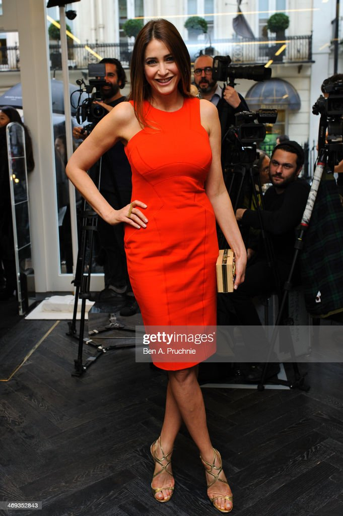 <a gi-track='captionPersonalityLinkClicked' href=/galleries/search?phrase=Lisa+Snowdon&family=editorial&specificpeople=204613 ng-click='$event.stopPropagation()'>Lisa Snowdon</a> attends the Amanda Wakeley presentation at London Fashion Week AW14 at on February 14, 2014 in London, England.