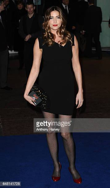Lisa Snowdon attends the 'Avatar' Premiere at the Odeon Cinema Leicester Square on December 10 2009 in London