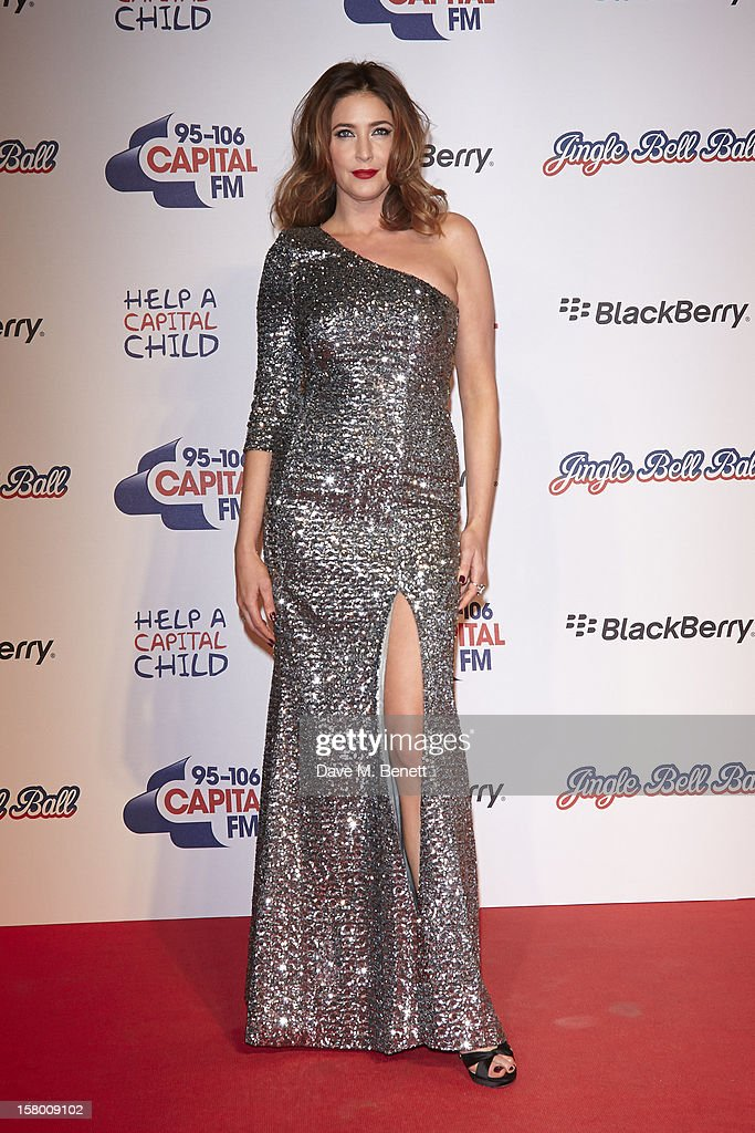 <a gi-track='captionPersonalityLinkClicked' href=/galleries/search?phrase=Lisa+Snowdon&family=editorial&specificpeople=204613 ng-click='$event.stopPropagation()'>Lisa Snowdon</a> attends the Capital FM Jingle Bell Ball at 02 Arena on December 8, 2012 in London, England.