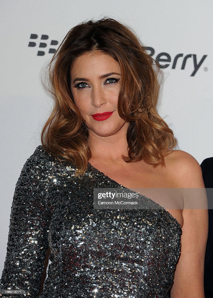 Lisa Snowdon attends the Capital FM Jingle Bell Ball at 02 Arena on December 8, 2012 in London, England.