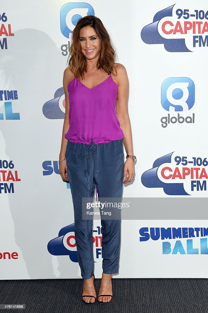 Lisa Snowdon attends the Capital FM Summertime Ball at Wembley Stadium on June 6, 2015 in London, England.
