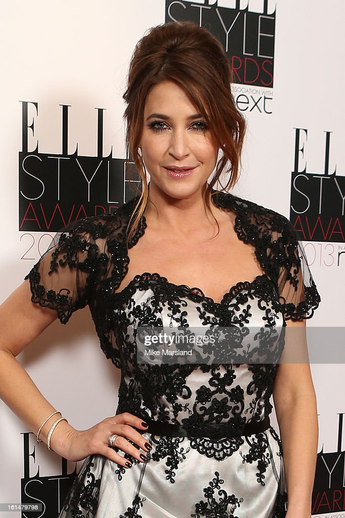 Lisa Snowdon attends the Elle Style Awards 2013 at The Savoy Hotel on February 11, 2013 in London, England.