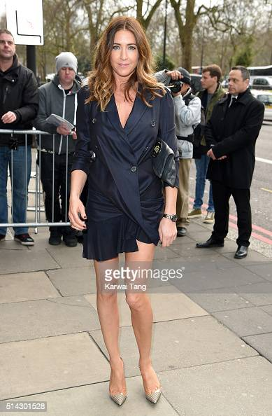 Lisa Snowdon attends the TRIC Awards 2016 at Grosvenor House Hotel at The Grosvenor House Hotel on March 8 2016 in London England