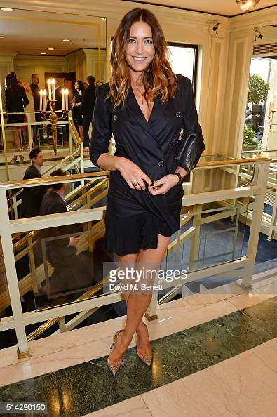 Lisa Snowdon attends the TRIC Awards at Grosvenor House Hotel at The Grosvenor House Hotel on March 8 2016 in London England