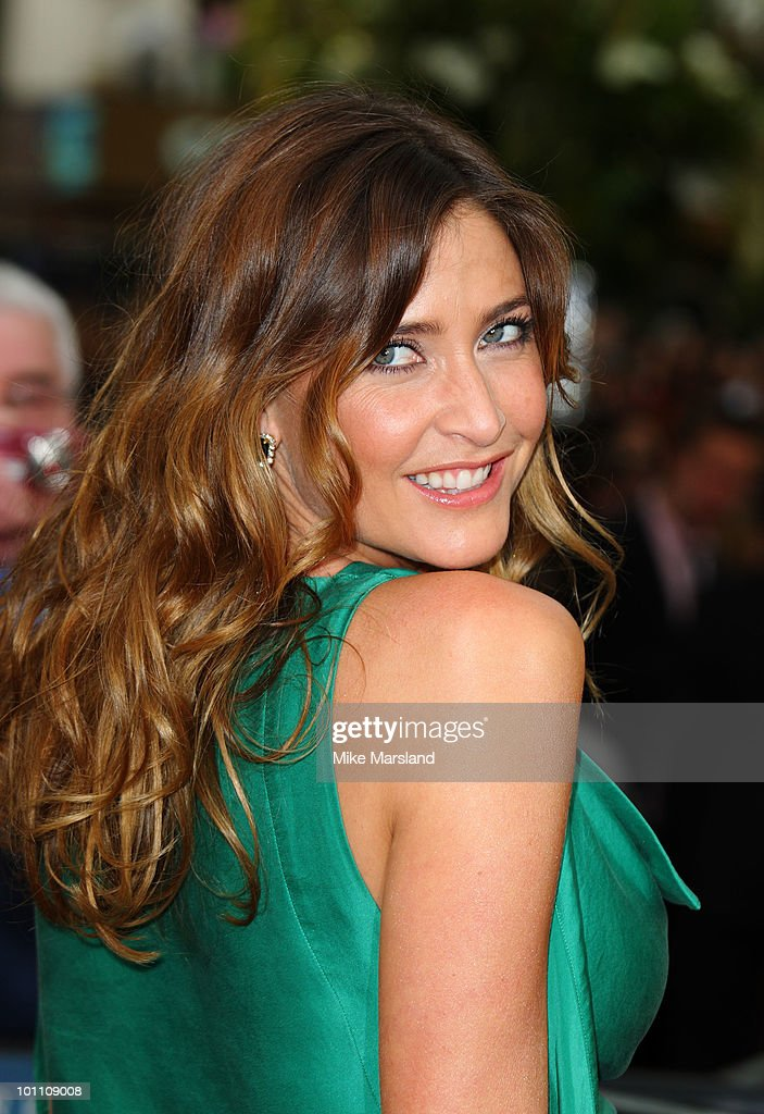 Lisa Snowdon attends the UK premiere of 'Sex And The City 2' at Odeon Leicester Square on May 27, 2010 in London, England.