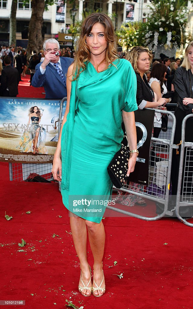 Lisa Snowdon attends the UK Premiere of Sex And The City 2 at the Odeon Leicester Square on on May 27, 2010 in London, England.
