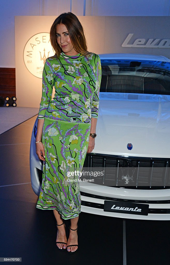<a gi-track='captionPersonalityLinkClicked' href=/galleries/search?phrase=Lisa+Snowdon&family=editorial&specificpeople=204613 ng-click='$event.stopPropagation()'>Lisa Snowdon</a> attends the UK VIP reveal of the Maserati Levante SUV at The Royal Horticultural Halls on May 26, 2016 in London, England.