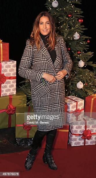Lisa Snowdon attends the VIP opening of Hyde Park's Winter Wonderland on November 19 2015 in London England