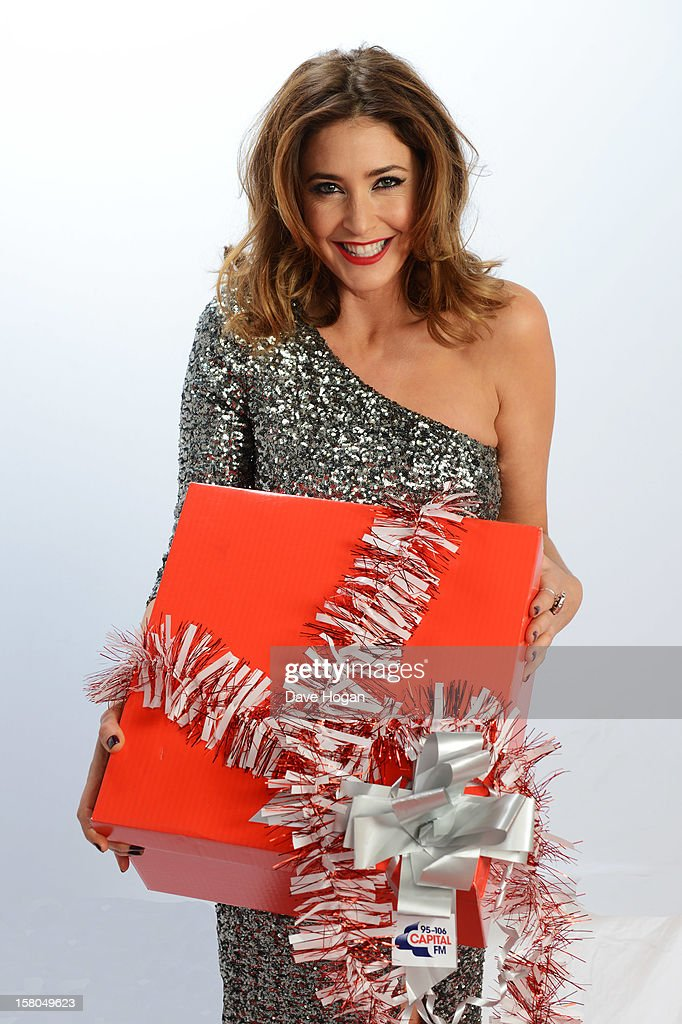 Lisa Snowdon poses for a portrait at The Capital FM Jingle Bell Ball at The O2 Arena on December 9, 2012 in London, England.