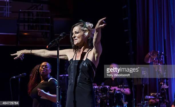 Lisa Stansfield at Birmingham Symphony Hall on September 5 2014 in Birmingham England