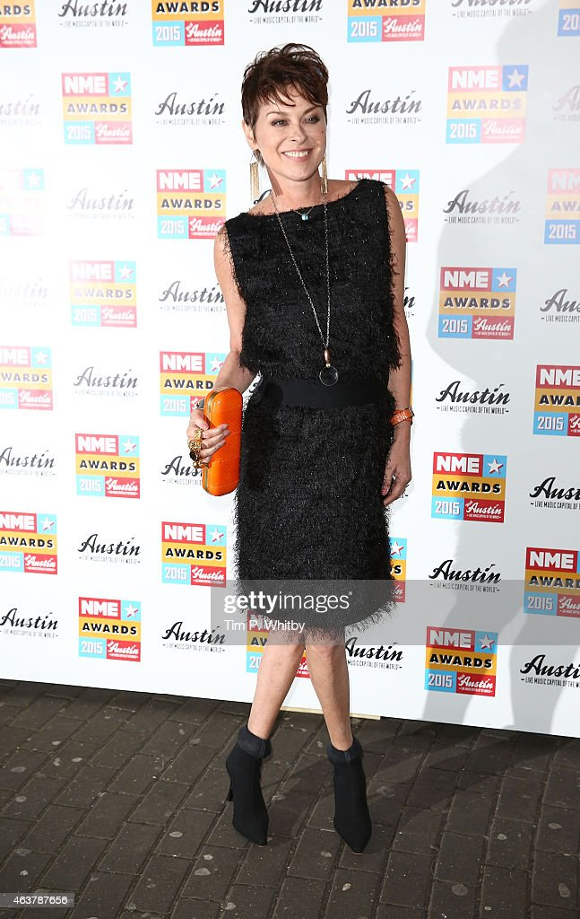 Lisa Stansfield attends the NME Awards at Brixton Academy on February 18 2015 in London England