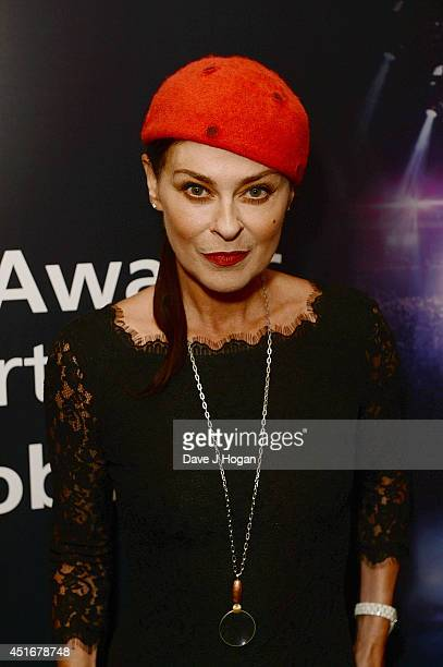 Lisa Stansfield attends the Nordoff Robbins 02 Silver Clef awards at London Hilton on July 4 2014 in London England