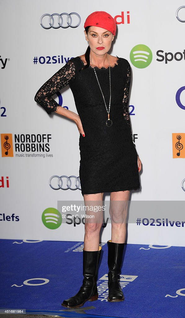 <a gi-track='captionPersonalityLinkClicked' href=/galleries/search?phrase=Lisa+Stansfield&family=editorial&specificpeople=1131347 ng-click='$event.stopPropagation()'>Lisa Stansfield</a> attends the Nordoff Robbins 02 Silver Clef awards at London Hilton on July 4, 2014 in London, England.