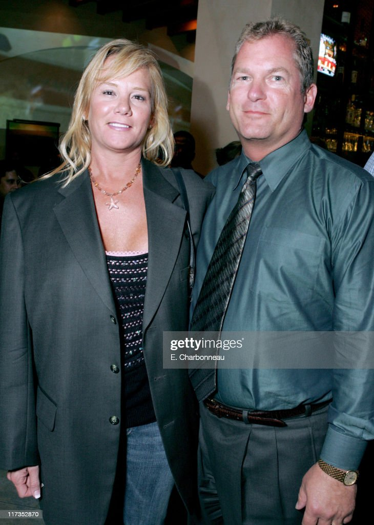 Lisa Taylor and Dan Taylor of MGM during MGM Pictures and Columbia Pictures 'Into the Blue' Premiere - After Party at Napa Valley Grill in Westwood, California, United States.