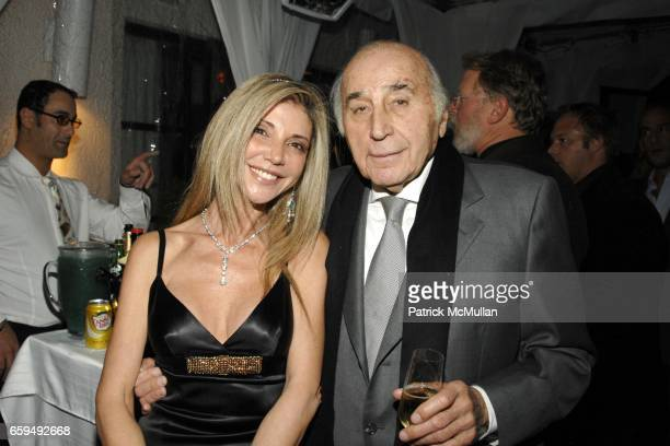 Lisa Tchenguiz and Lee Mellis attend OCEANA New York Launch hosted by Alexander and Brenda von Schweickhardt sponsored by TIFFANY Co at Private...