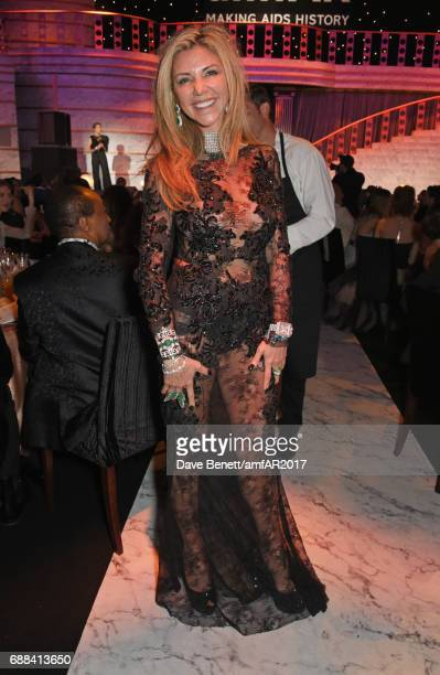 Lisa Tchenguiz attends the amfAR Gala Cannes 2017 at Hotel du CapEdenRoc on May 25 2017 in Cap d'Antibes France