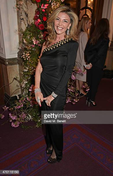 Lisa Tchenguiz attends The Backstage Gala in aid of The Naked Heart Foundation at The London Coliseum on April 17 2015 in London England