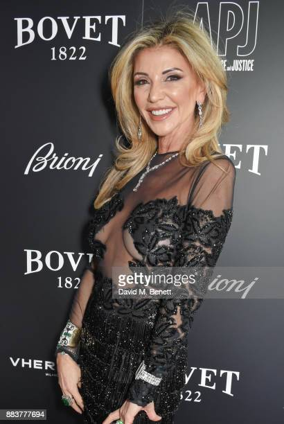 Lisa Tchenguiz attends the BOVET 1822 Brilliant is Beautiful Gala benefitting Artists for Peace and Justice's Global Education Fund for Women and...