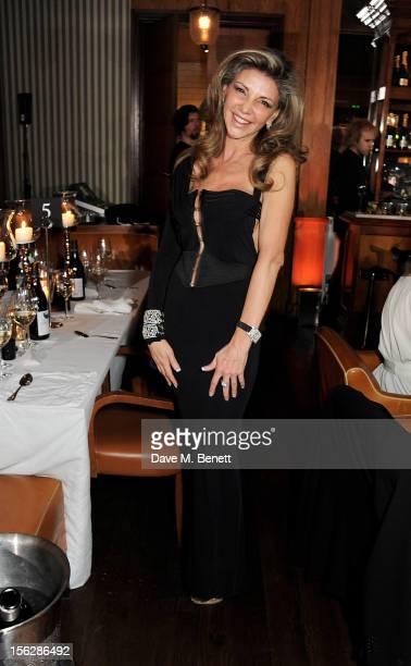 Lisa Tchenguiz attends the de Grisogono private dinner at 17 Berkeley St on November 12 2012 in London England