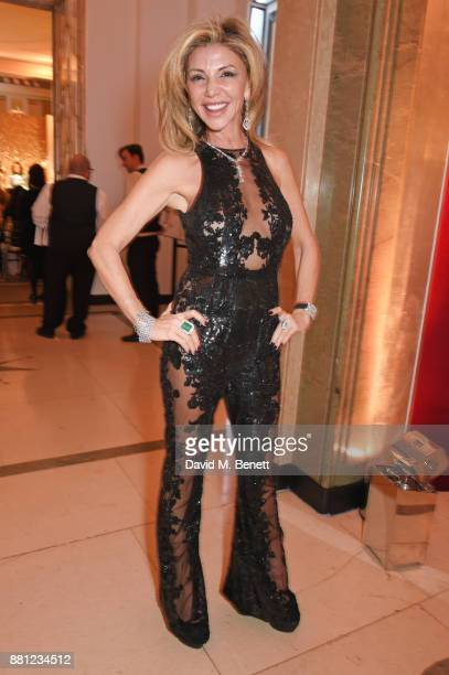 Lisa Tchenguiz attends the Lady Garden Gala in aid of Silent No More Gynaecological Cancer Fund and Cancer Research UK at Claridge's Hotel on...