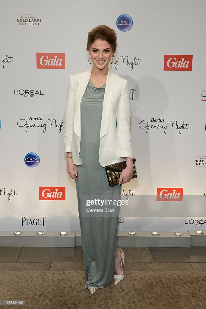Lisa Tomaschewsky attends the Berlin Opening Night Of Gala & Ufa Fiction during the 64th Berlinale International Film Festival at Hotel Das Stue on February 6, 2014 in Berlin, Germany.