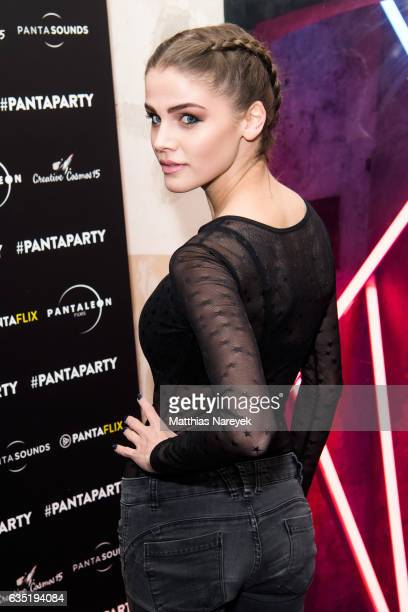 Lisa Tomaschewsky attends the Pantaflix Party during the 67th Berlinale International Film Festival Berlin at the Grand on February 13 2017 in Berlin...