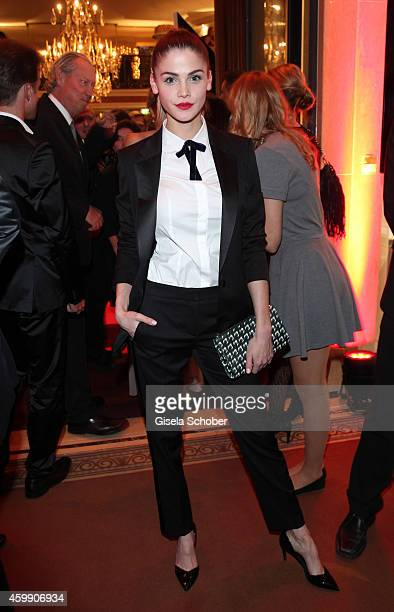 Lisa Tomaschewsky during the Audi Generation Award 2014 at Hotel Bayerischer Hof on December 3 2014 in Munich Germany