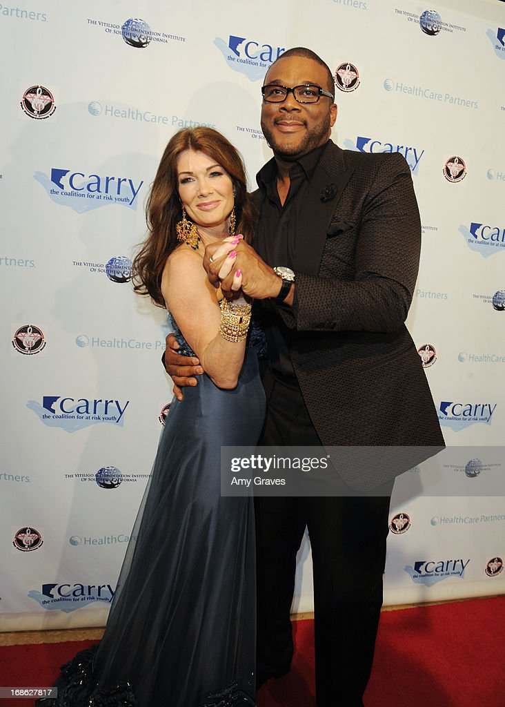 Lisa Vanderpump and Tyler Perry attend the CARRY Foundation's 7th Annual 'Shall We Dance' Gala at The Beverly Hilton Hotel on May 11, 2013 in Beverly Hills, California.