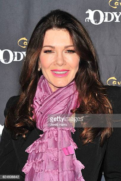 Lisa Vanderpump arrives at the Premiere Event of 'Odysseo By Cavalia' on November 19 2016 in Irvine California