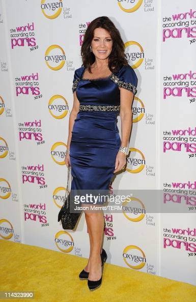 Lisa Vanderpump arrives at the premiere of Oxygen's new docuseries 'The World According to Paris' at Tropicana Bar at The Hollywood Roosevelt Hotel...