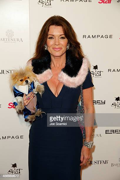 Lisa Vanderpump arrives at the Star Magazine Scene Stealers Event at Lure on October 9 2014 in Hollywood California