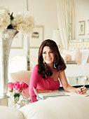 Lisa Vanderpump at home