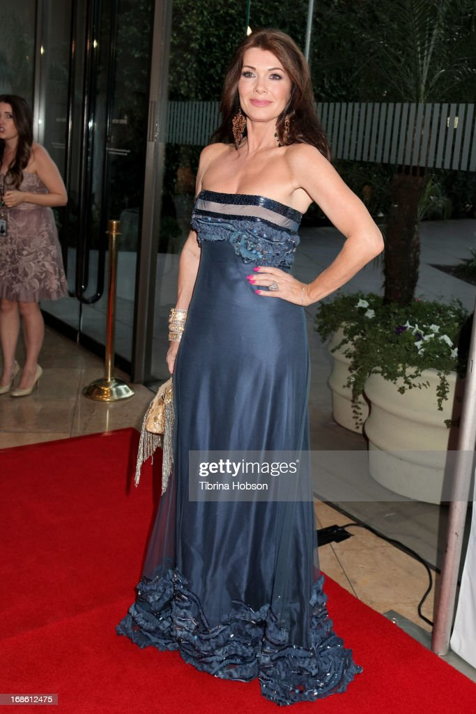 LIsa Vanderpump attend the 'Shall We Dance' annual gala for the coalition for at-risk youth at The Beverly Hilton Hotel on May 11, 2013 in Beverly Hills, California.