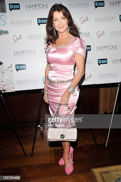 Lisa Vanderpump attends Hamptons Magazine's celebration with cover star Andy Cohen at the Hudson Hotel on August 8 2011 in New York City