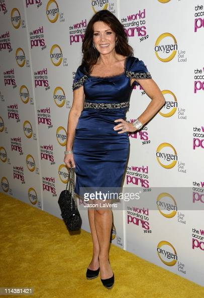 Lisa Vanderpump attends Oxygen's 'The World According To Paris' premiere party at Tropicana Bar at The Hollywood Rooselvelt Hotel on May 17 2011 in...