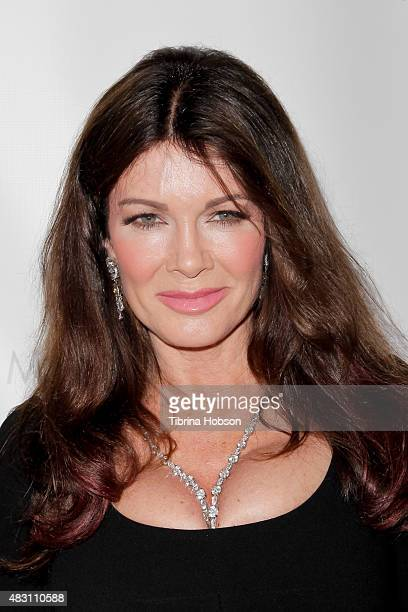 Lisa Vanderpump attends the 1st #LoveCampaign party at Pump on August 5 2015 in West Hollywood California