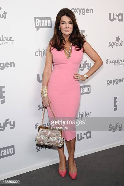 Lisa Vanderpump attends the 2015 NBCUniversal Cable Entertainment Upfront at The Jacob K Javits Convention Center on May 14 2015 in New York City