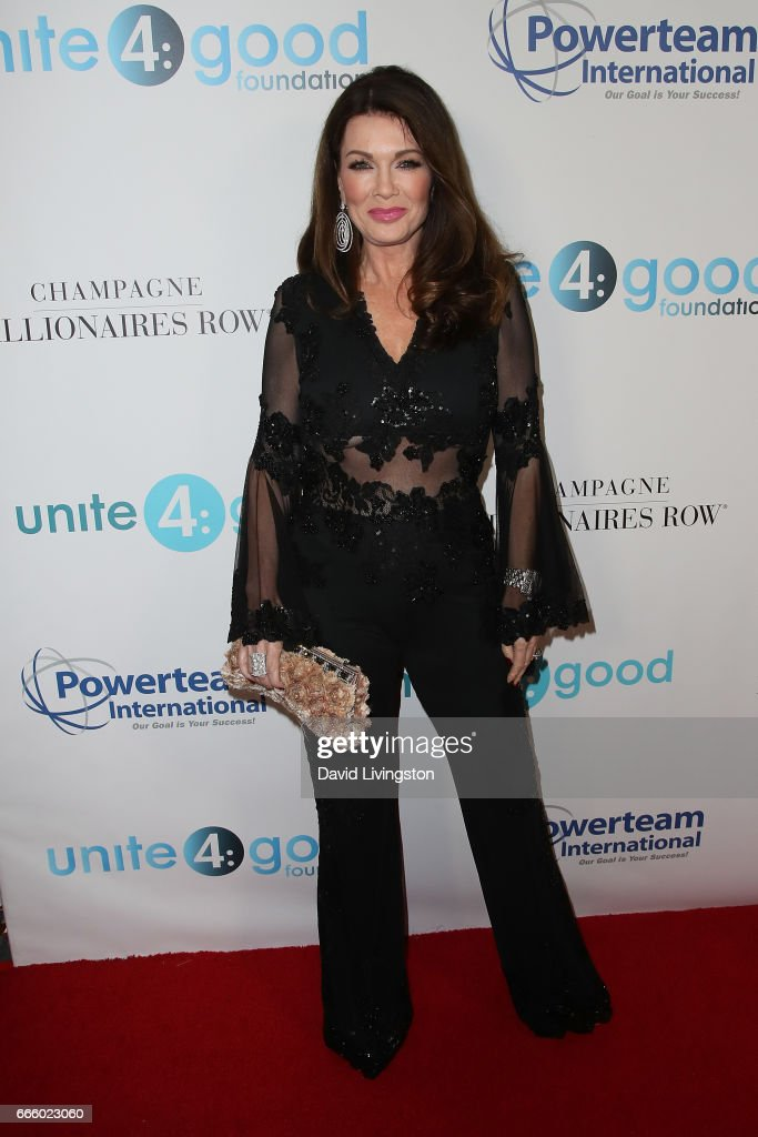 Lisa Vanderpump attends the 4th annual unite4:humanity Gala at the Beverly Wilshire Four Seasons Hotel on April 7, 2017 in Beverly Hills, California.