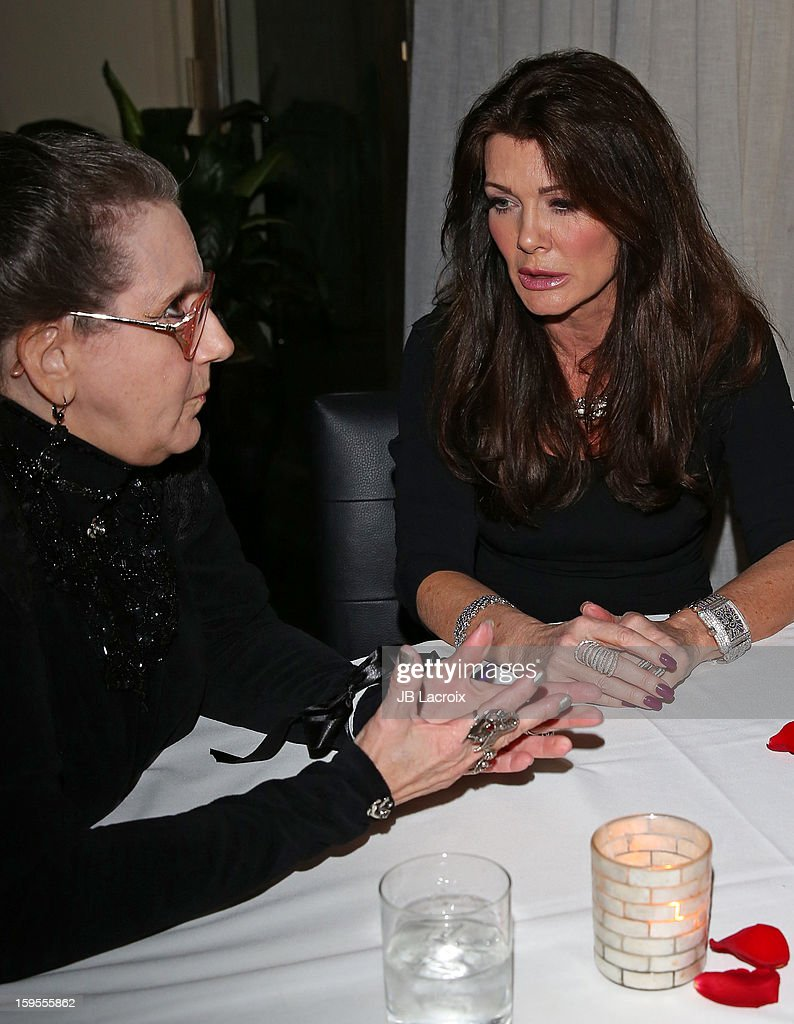 <a gi-track='captionPersonalityLinkClicked' href=/galleries/search?phrase=Lisa+Vanderpump&family=editorial&specificpeople=6834933 ng-click='$event.stopPropagation()'>Lisa Vanderpump</a> attends the KIIS FM And Oranum Psychics Girls Night Out at SUR Lounge on January 15, 2013 in Los Angeles, California.