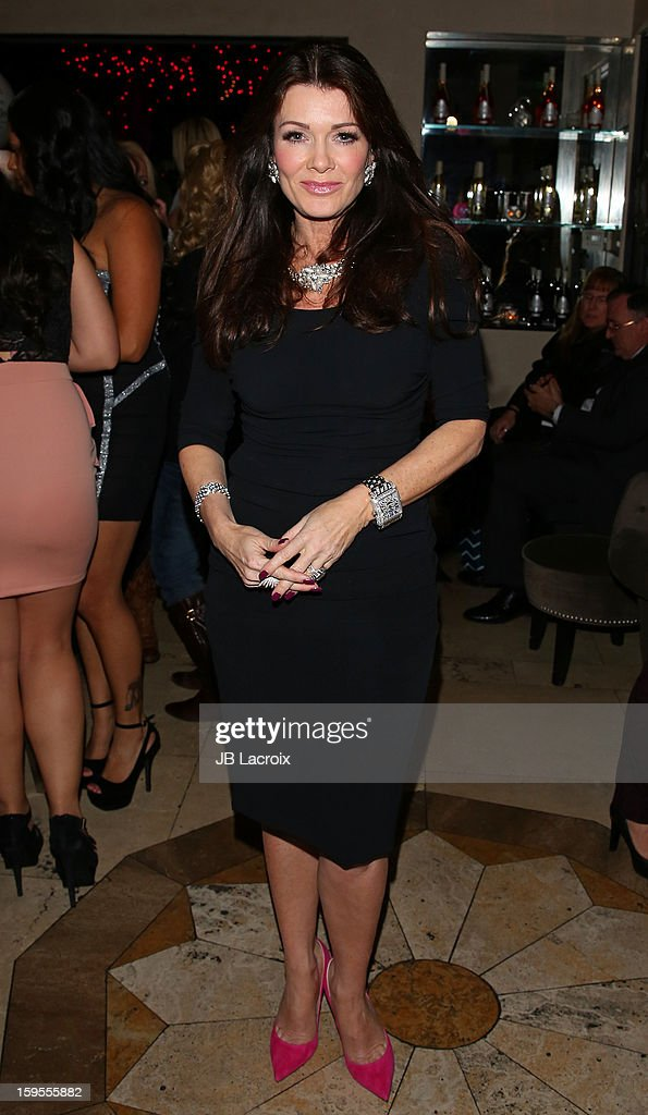Lisa Vanderpump attends the KIIS FM And Oranum Psychics Girls Night Out at SUR Lounge on January 15, 2013 in Los Angeles, California.