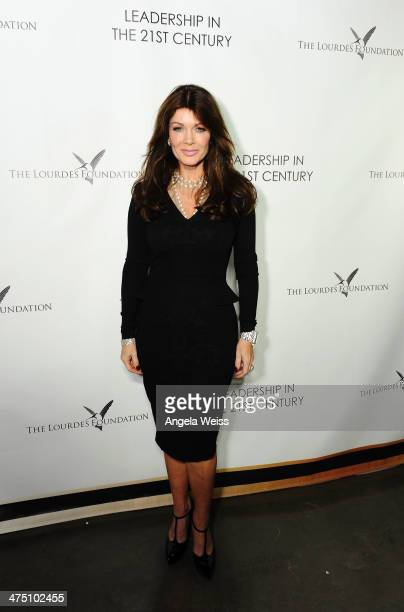 Lisa Vanderpump attends The Lourdes Foundation 'Leadership in the 21st Century' Event with His Holiness the 14th Dalai Lama at the California Science...