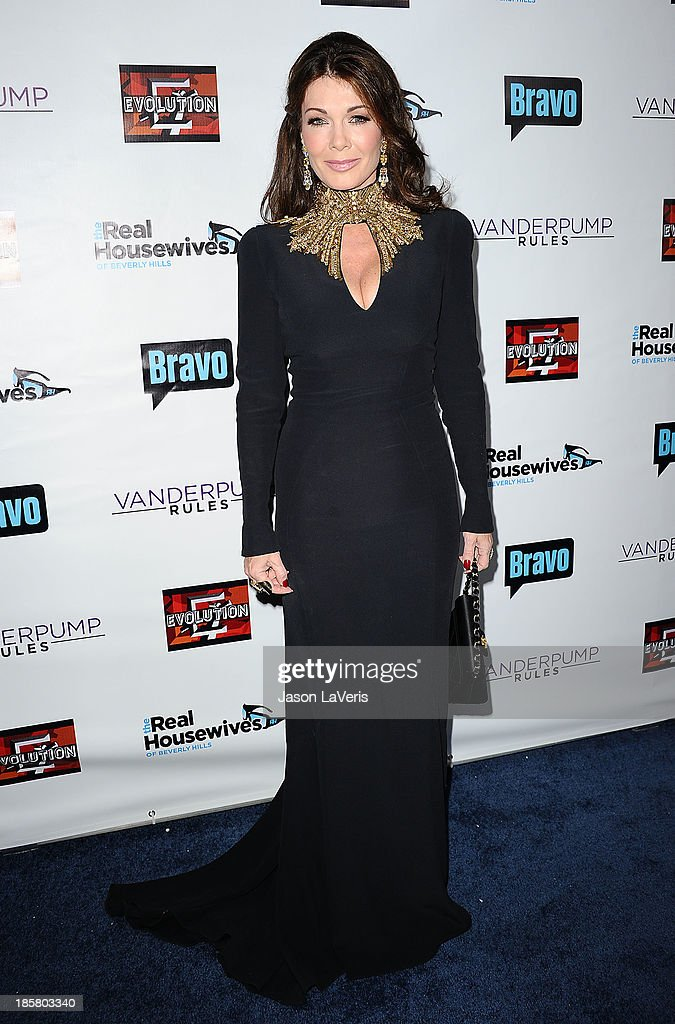Lisa Vanderpump attends the 'The Real Housewives of Beverly Hills' and 'Vanderpump Rules' premiere party at Boulevard3 on October 23, 2013 in Hollywood, California.