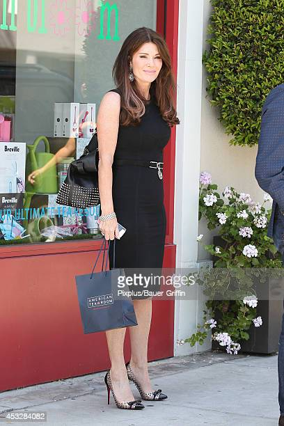 Lisa Vanderpump is seen in Beverly Hills on August 06 2014 in Los Angeles California