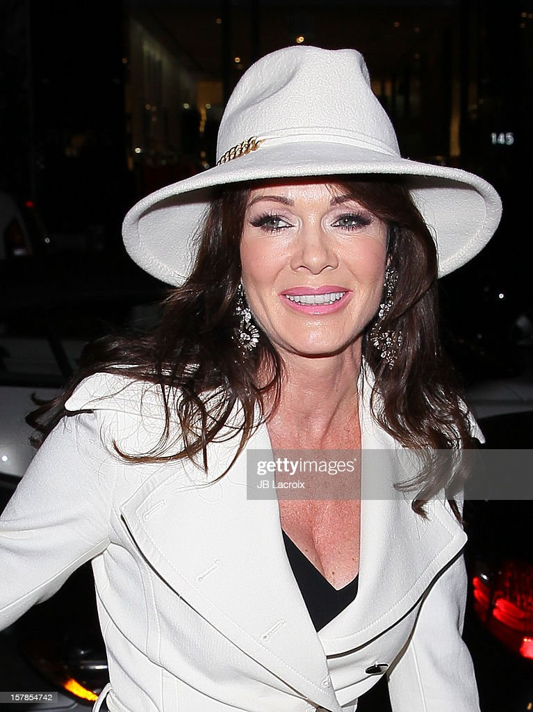 Lisa Vanderpump is seen on December 6, 2012 in Los Angeles, California.
