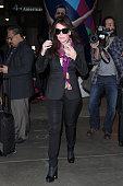Lisa Vanderpump seen at LAX on January 26 2015 in Los Angeles California