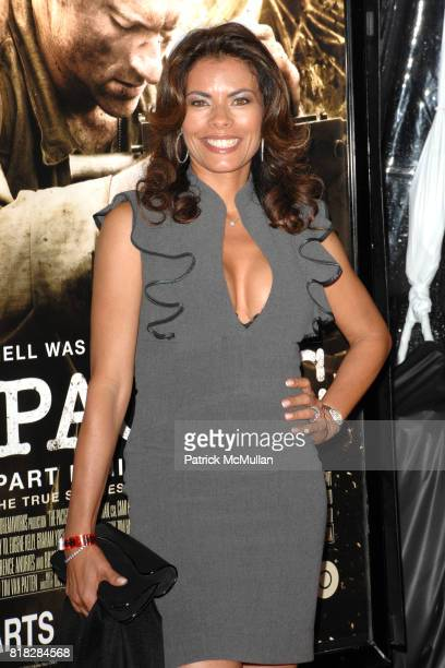 Lisa Vidal attends 'The Pacific' Los Angeles Premiere at Grauman's Chinese Theater on February 24 2010 in Los Angeles California