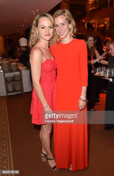 Lisa Wagner and Lena Doerrie during the opening night of the Munich Film Festival 2017 at Bayerischer Hof on June 22 2017 in Munich Germany